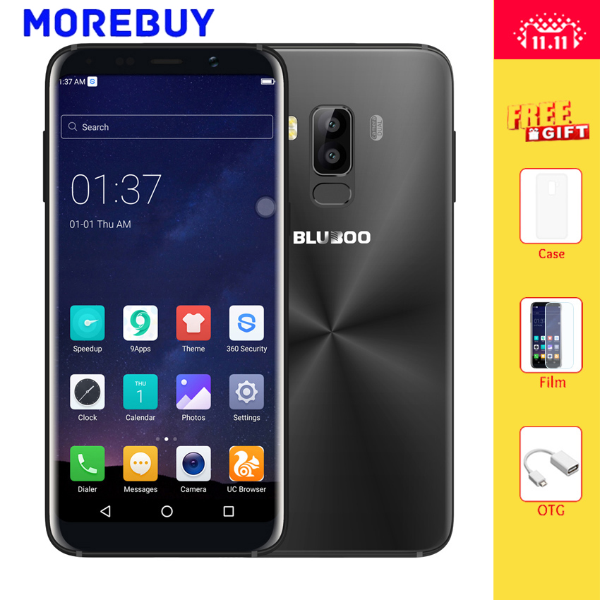 BLUBOO S8 Mobile Phone 5 7 HD 18 9 Aspect Ratio MTK6750T Octa Core 3G RAM