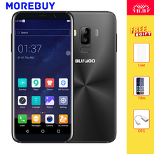 BLUBOO S8 Mobile Phone 5.7″HD 18:9 Aspect Ratio MTK6750T Octa Core 3G RAM 32G ROM Android 7.0 Fingerprint 3450mAh Dual Real Lens