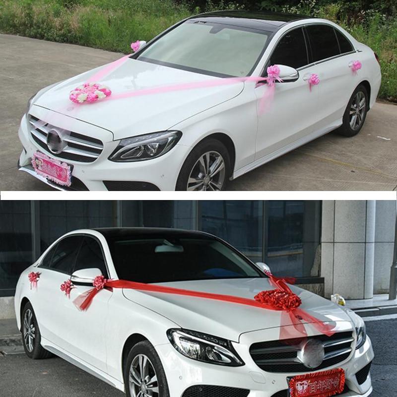 Γάμος Αυτοκίνητα Διακοσμητικά - Προϊόντα για τις διακοπές και τα κόμματα - Φωτογραφία 2