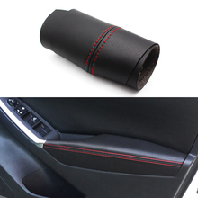 For Mazda CX-5 2012 2013 2014 2015 Car Door Handle Panel Armrest Microfiber Leather Cover