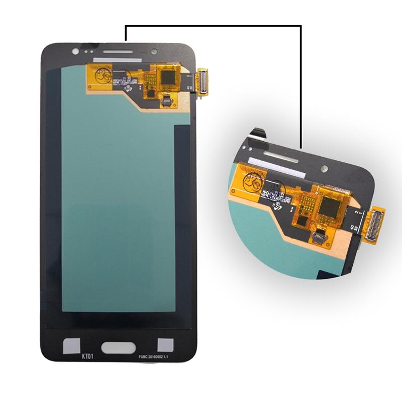 Image 2 - AMOLED для samsung Galaxy J5 2016 J510 ЖК монитор с сенсорным экраном J510 J510F J510FN J510M цифровой светодиодный датчик дисплей + бесплатный инструмент-in ЖК-экраны для мобильного телефона from Мобильные телефоны и телекоммуникации