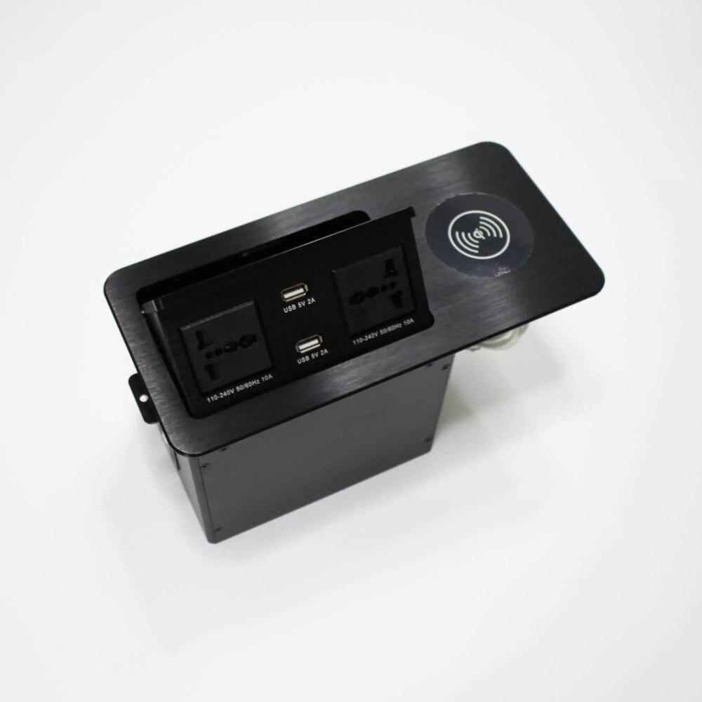 2019 boîte de prise hydraulique avec chargeur sans fil