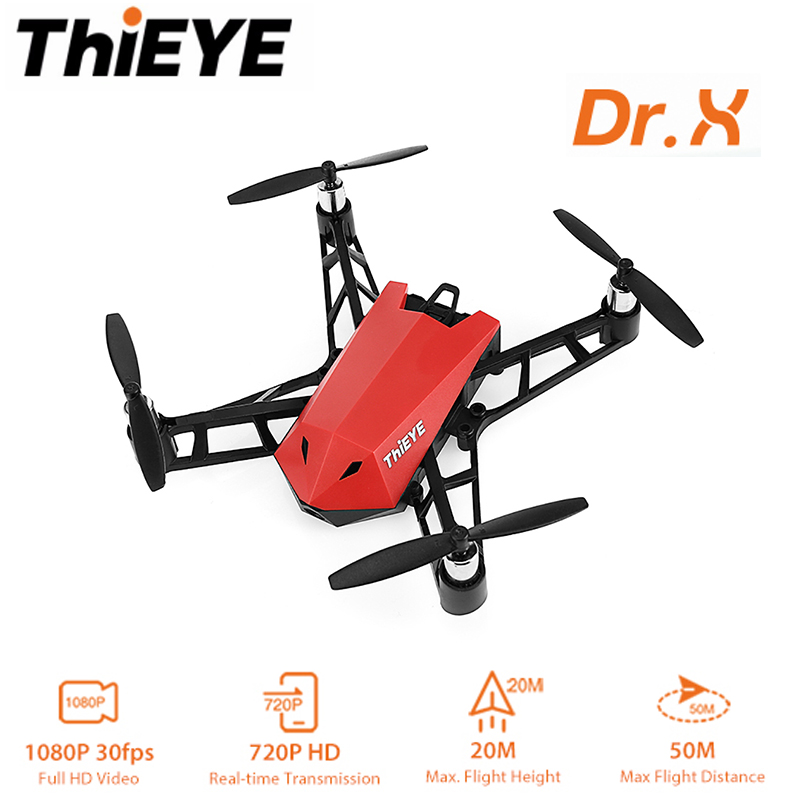 THiEYE Dr.X Mini Drone With Camera HD 1080P Camera APP RC High Lever Flight Stability Quadcopter Helicopter Micro Pocket DroneTHiEYE Dr.X Mini Drone With Camera HD 1080P Camera APP RC High Lever Flight Stability Quadcopter Helicopter Micro Pocket Drone