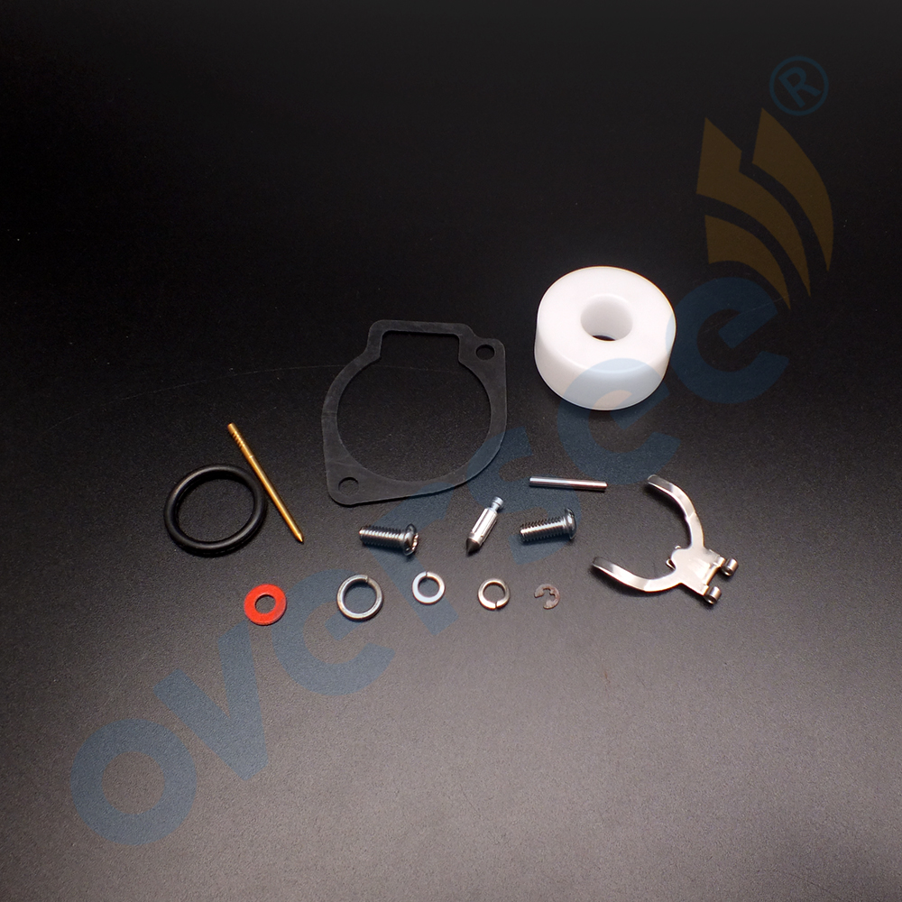 Boat <font><b>Motor</b></font> 3F0-87122 3F0-W0093 Carburetor Repair Kit for Tohatsu Nissan <font><b>2.5HP</b></font> 3.5HP 2 strokes 3F0-87122-00 3F0-W0093-00 image