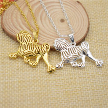 LPHZQH fashion hippie cartoon Boho Chic Lowchen dog pendant necklace women choker chain necklace charm collar Jewelry gift punk