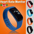 5 Color Waterproof Heart Rate Monitor Fitness Bracelet Activity Tracker Smart Wristband Pedometer Smartband pk fitbits Mi Band 2