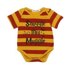 a95f0087101c Новое поступление Импортная детская одежда для новорожденных Для маленьких  мальчиков короткий рукав полоса письмо печати комбине.