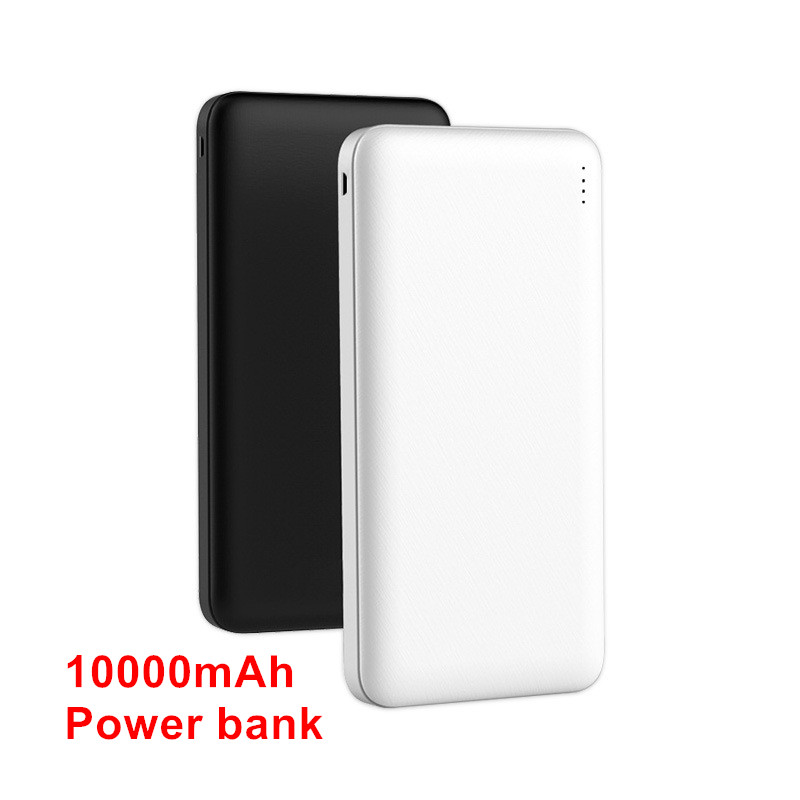 Portable 10000mAh Power Bank 2 USB Fast Charging Type C Powerbank For Xiaomi mi iPhone 7 8 X External Battery Charger Poverbank(China)