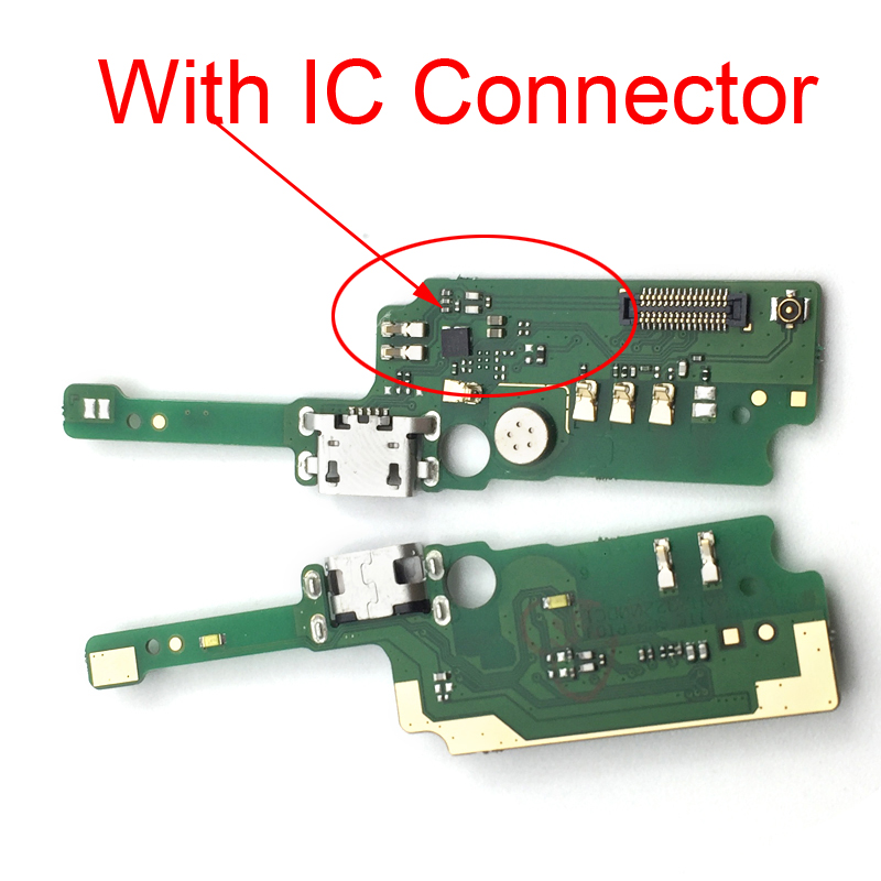 USB Charging Port Board For Alcatel Shine Lite 5080 5080U 5080X Charger Connector Dock Flex Cable With Microphone