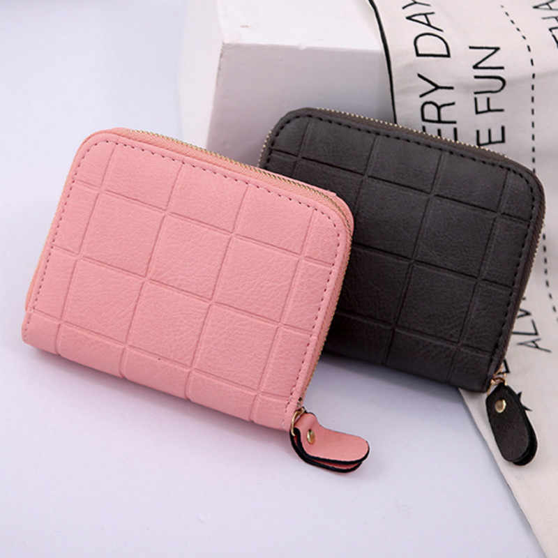 Carteras 2019 New Fashion Women's Purse Card Holder Women Small Wallet Zipper Clutch Coin Purse Female Bag Portefeuille Femme