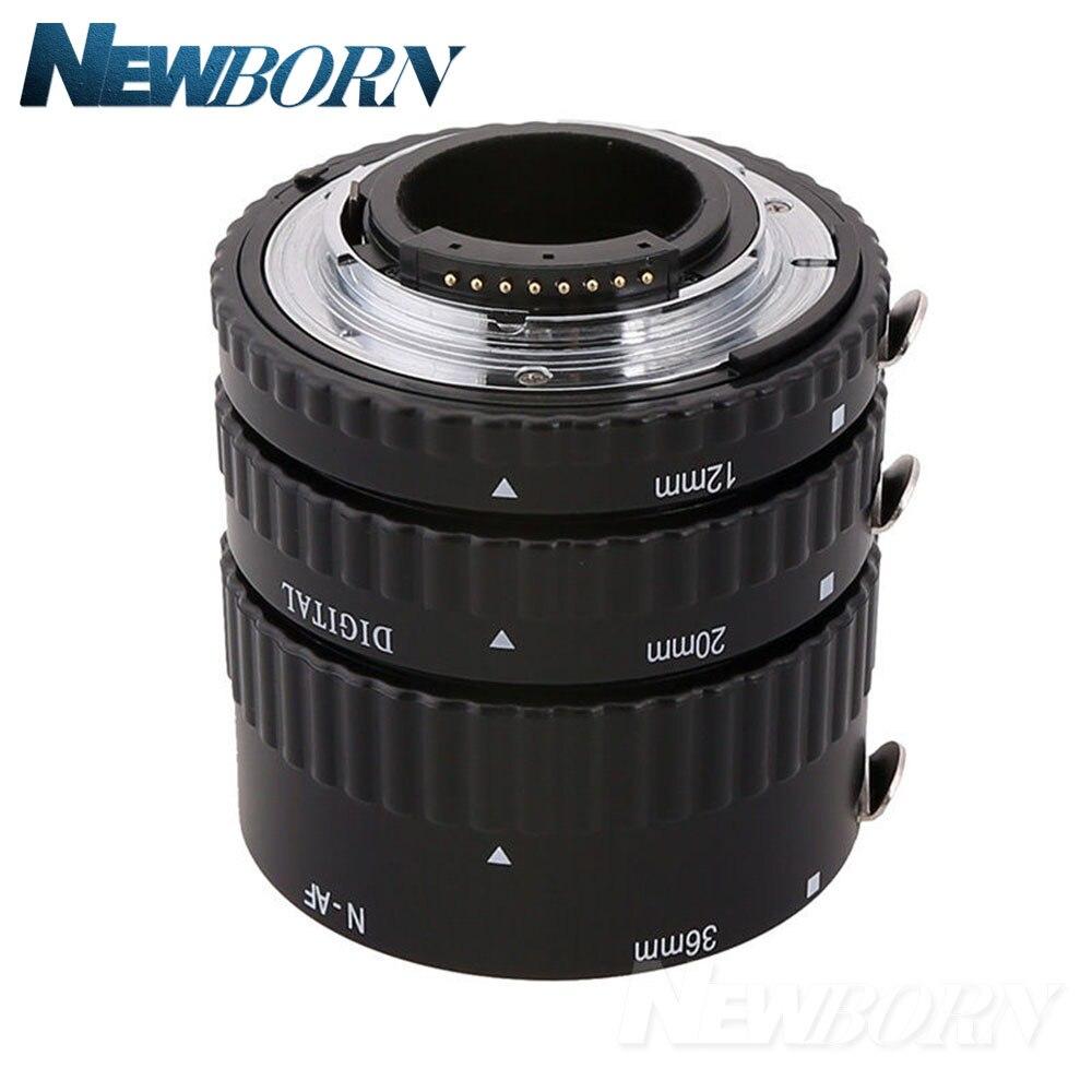 Meike Autofocus D'extension Macro Tube Anneau pour Nikon D7500 D7200 D5600 D5500 D5300 D3400 D3300 D850 D810a D750 D5 D4 Caméra - 5