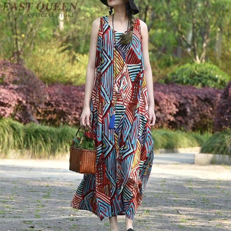 Dresses summer 2018 women hippie boho clothing chic dress beach fashion hippie chic female summer 2018
