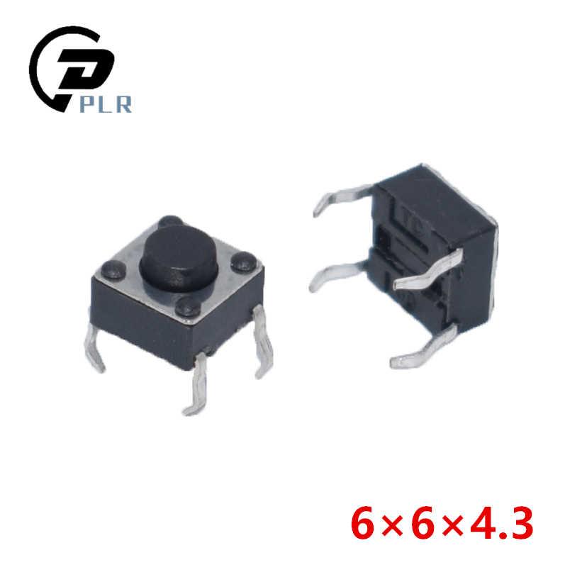 20 pièces 4Pin 6*6 Micro à Bouton Poussoir Commutateurs DIP 6x6x4.3/5/6/7/8/9/10/11/12/13/14/15 MM 4.3 5 6 7 8 9 10 11 12 13mm 14mm 15mm