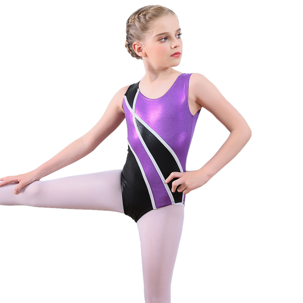7aa3e437b Fashion Kids Girls Gymnastics Leotards Ballet Dance Wear Tank ...