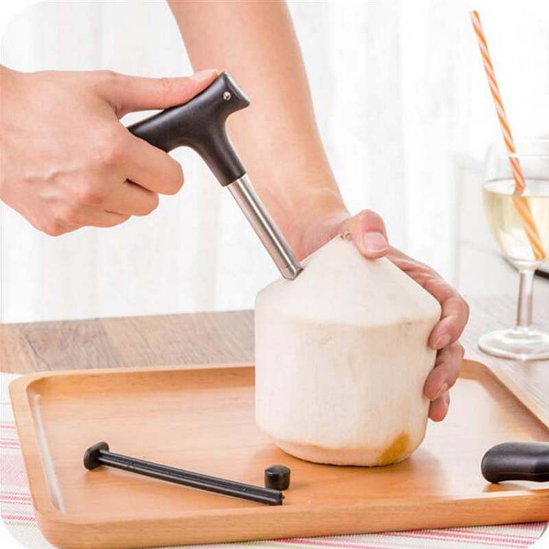 Open coconut kitchen utility gadgets Coconut cutter hole artifact opener opener  Basic Information(China)