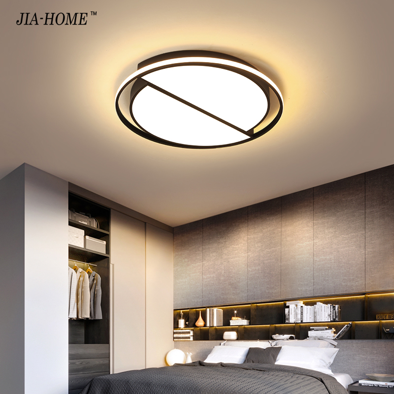 Dimmable Led Ceiling Lamp Modern white Black Ceiling Lights Round for Living Room Kitchen Light Fixtures Indoor Lighting Ceiling
