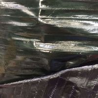 Eco dyed Genuine Eel Skin Leather Fabric, 135cm*70cm, for Sandal/Purse/Garment,Free shipping