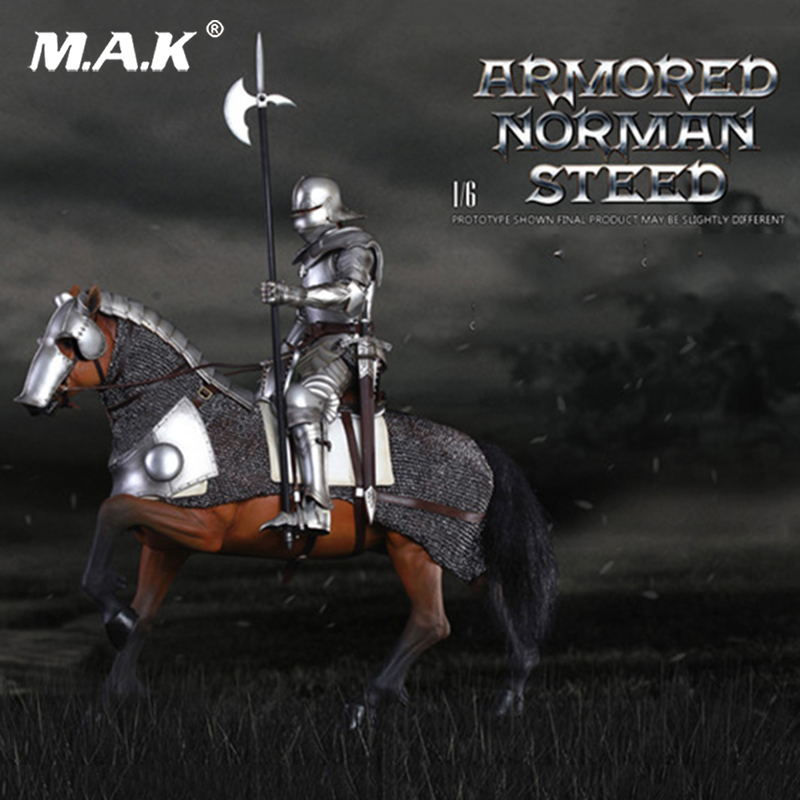 SE014 1/6 Alloy die-casting Empire series Gothic knight Armored war horse ; SE012 Series of Empires Gothic Knight Set 1/6 Scale gothic blue