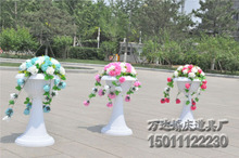 Wedding decoration latest Wedding plastic road leads Roman pillars for wedding and party wedding lead stand 10pcs/lot
