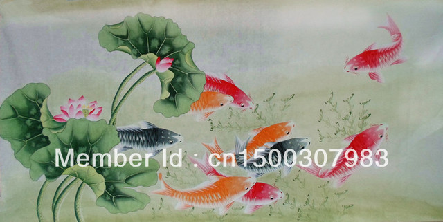 Chinese Painting Calligraphy Living Room Feng Shui Paintings Four