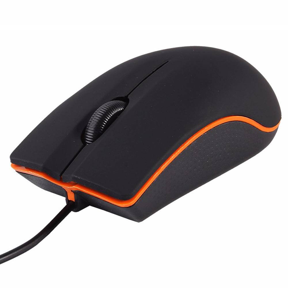 1.3M USB Wired Mouse 1200dpi 3 Buttons Optical Gaming Gamer Mouse Portable Office Mice For PC Laptop Computer Wholesale