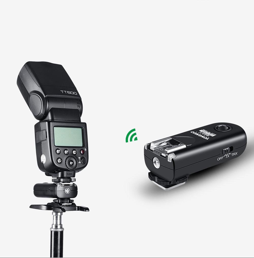 Yongnuo RF 603N II Wireless Flash Trigger 2 Transceivers Set Shutter Release for Nikon D810 D800 D700 D300 D200 D3S D3 D2 DSLR-in Shutter Release from Consumer Electronics    3
