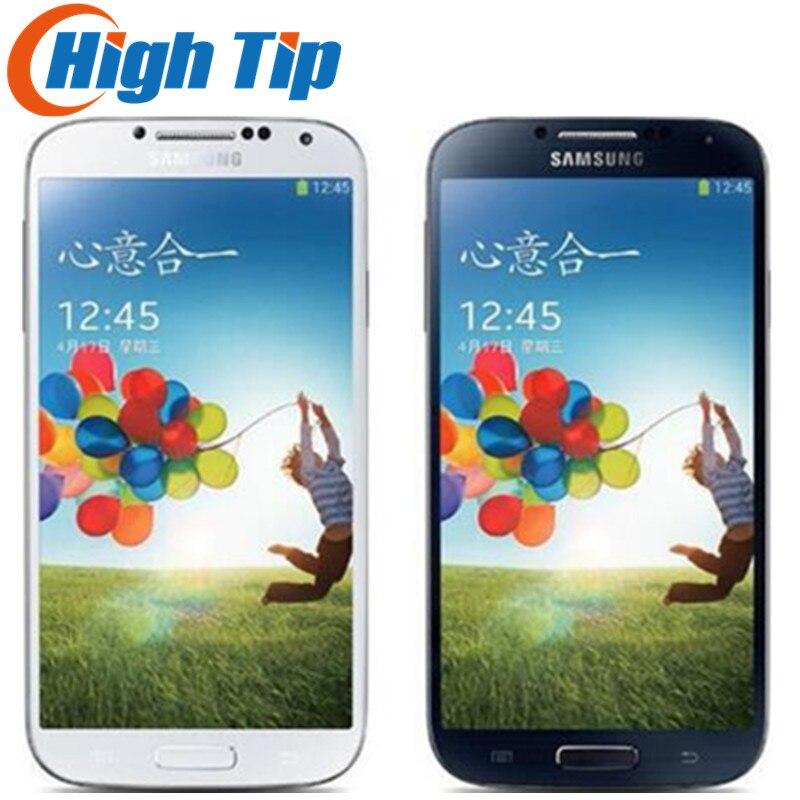 Débloqué Original Samsung Galaxy S4 i9500 i9505 téléphone portable 13MP caméra 16 GB ROM 5.0