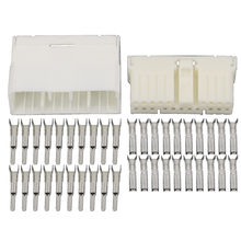 20 контактов белая пластиковая стандартная Шпилька фоторазъем