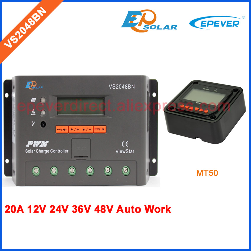 regulator for solar charger off-grid system 12V 24V 48V battery charger VS2048BN EPEVER PWM with MT50 Meter two colors options 3pcs battery and european regulation charger with 1 cable 3 line for mjx b3 helicopter 7 4v 1800mah 25c aircraft parts