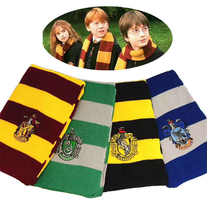 Scarf Costume  Cosplay Gryffindor  Slytherin   Hufflepuff  Ravenclaw Children's Gifts Christmas Halloween  Costume Kid Dress Up