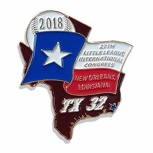 Metal Sport Enamel Lapel Pin cheap custom metal badges pin