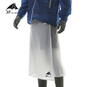 3F UL GEAR  Rain-Proof Pants For Cycling Camping Hiking Hunting Rain Pants Ultra Light Waterproof Rain Skirt
