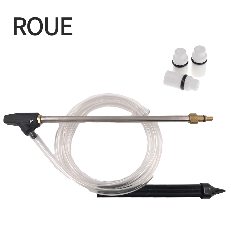 ROUE Sand And Wet Blasting Quick Connect With Lavor Kit Washer Professional Working With Ceramic Nozzle roue sand and wet blasting kit hose with high quality of and wet of karcher gun suit for k1 k9 with ceramic nozzle cw025 a