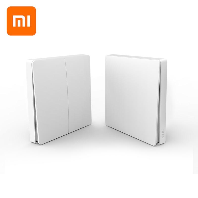 Original Xiaomi Aqara Smart Switch Light Remote Control Zigbee Wifi Wireless Key Wall Switch Work With Mijia Mi Home APP