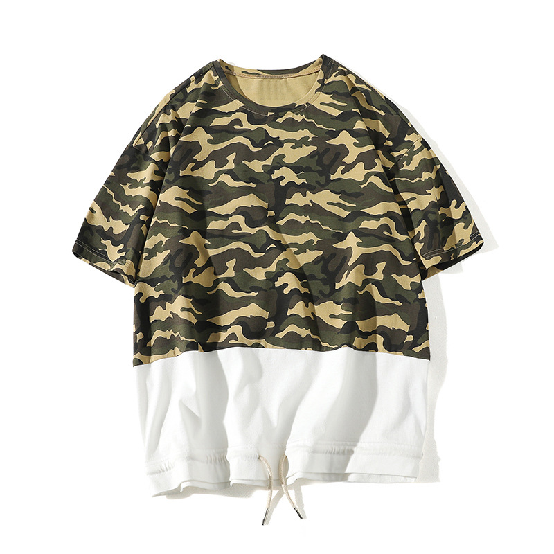 asymmetrical shirts manga corta rayas hombre guns n roses for top exercises horror movie funny jesus military camouflage HT005