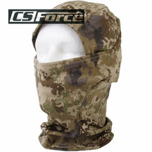 CS Force 2017 Windproof Running Training Face Mask Balaclava Scarf Military Full Face Mask Winter Neck Warm Headwear for Men