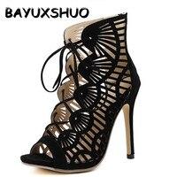 New Designer Summer Sandals Women Pumps Cross Straps Sexy Open Toe Sandals Walk Shoes Woman Gift