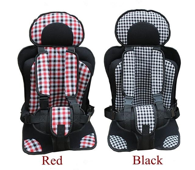 2016 Nova Barato Portátil Baby Car Assentos de Segurança Do Carro da Criança para bebê de 0-18 KG Carro Almofada Do Assento de Carro 2 Cores das Crianças Chlid assento