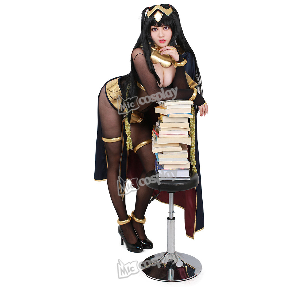 Fire Emblem Awakening Tharja Cosplay Costume Anime Donne vestiti sexy mantello