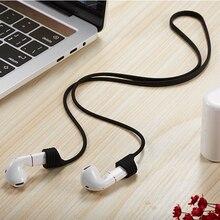 68cm אוזניות אביזרי נגד איבד אוזניות רצועות עבור Flypods פרו אוזניות סיליקון מחרוזת חבל עבור Freebuds 2 Bluetooth