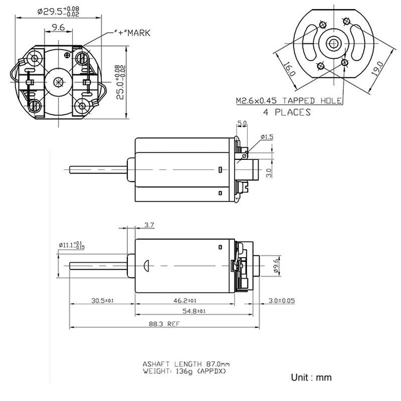 ୧ʕ ʔ୨Al por mayor FK480 tierra rara fuerte Motor magnético, Motor ...