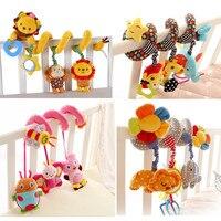 Baby Spielzeug 0-12 Monate Neugeborene Kinderwagen Mobilen Spielzeug Rasseln Für Kinder Hängen Musikalische Kinderwagen Krippe Pädagogisches Beißring spielzeug