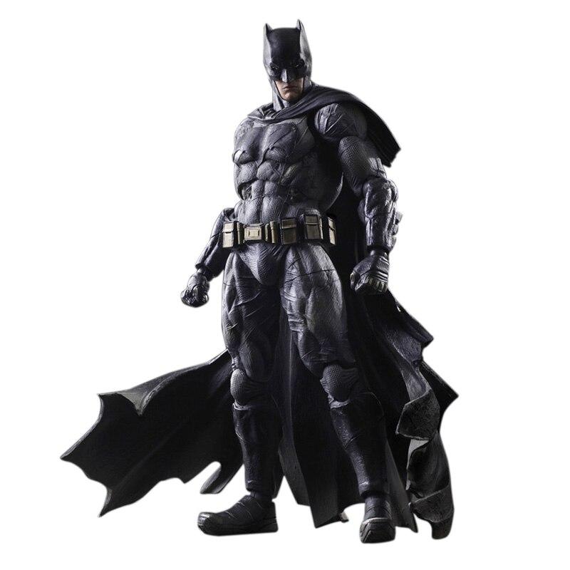 SQUARE ENIX Play Arts KAI Batman v Superman Dawn of Justice NO.1 Batman PVC Action Figure Collectible Model Toy 25cm KT2897