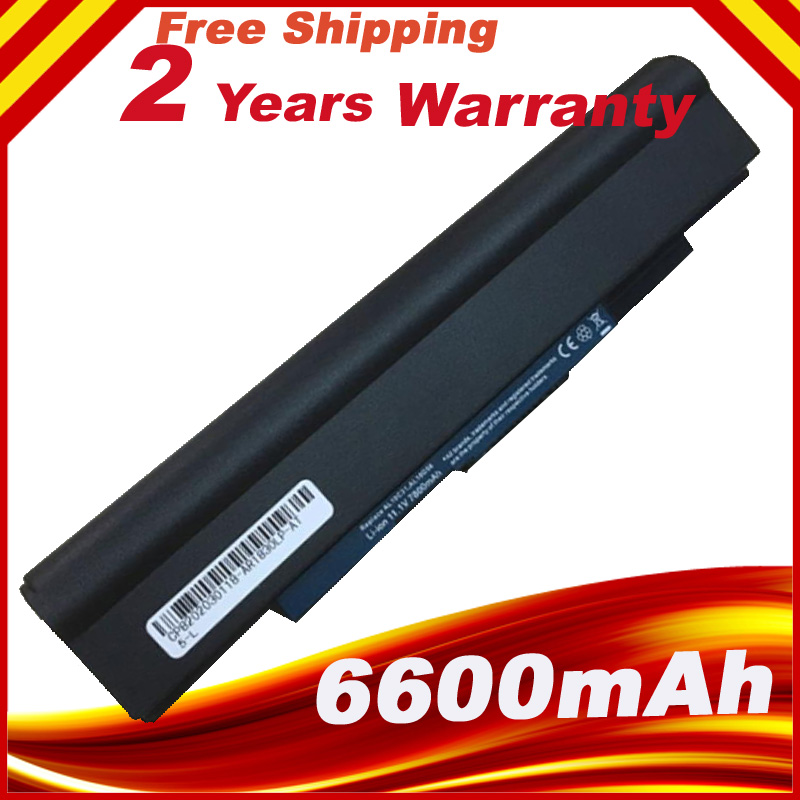 6600mAh 9 Cells Laptop Battery For Acer Aspire One 721 Laptop Battery for Acer Aspire 1830T