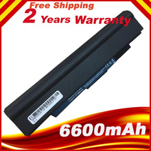 6600mAh 9 Cells Laptop Battery For Acer Aspire One 721 Laptop Battery for Acer Aspire 1830T AL10D56  AL10C31 1430 1430Z 1551