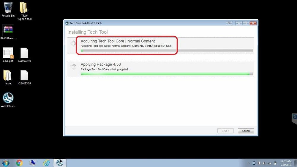 Premium Tech Tool 2.7.45 PTT \ VCADS Development+Official Server Online install for volvo [ Support VNL truck]