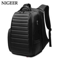 NIGEER большой Ёмкость путешествия рюкзак Для мужчин для подростка мужской Mochila водоотталкивающая ноутбук рюкзаки многофункциональный n0008