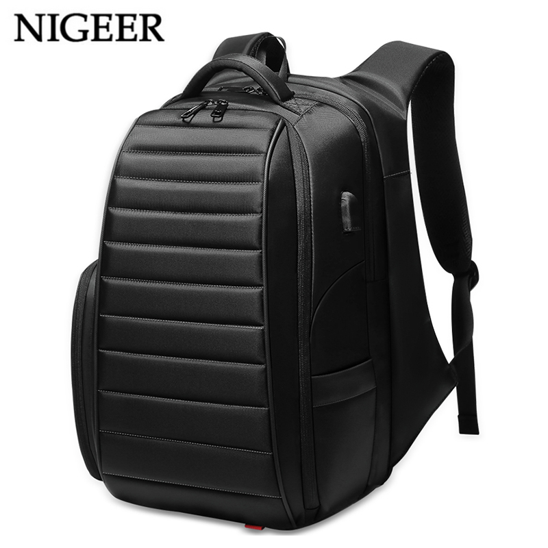 NIGEER Large Capacity Travel Backpack Men for Teenager Male Mochila Water Repellent Laptop Backpacks Multifunction n0008 dide 2018 new travel backpack men shoulder school bag laptop backpacks for teenager male mochila bags waterproof large capacity