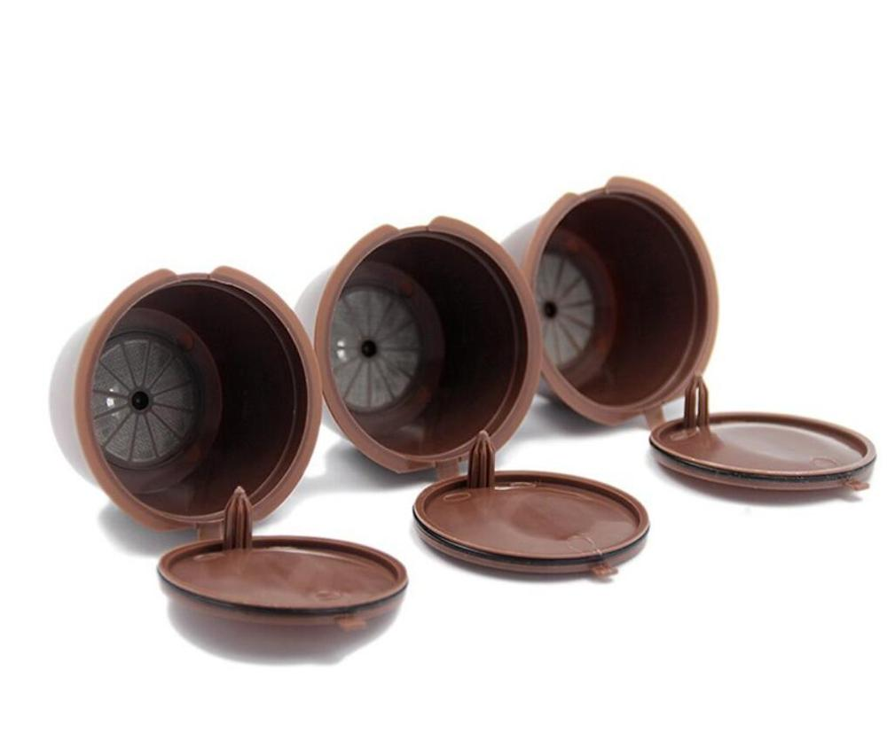 3pcs/lotRefillable Dolce Gusto Coffee Capsule Nescafe Dolce Gusto Reusable Capsule Dolce Gusto Capsules