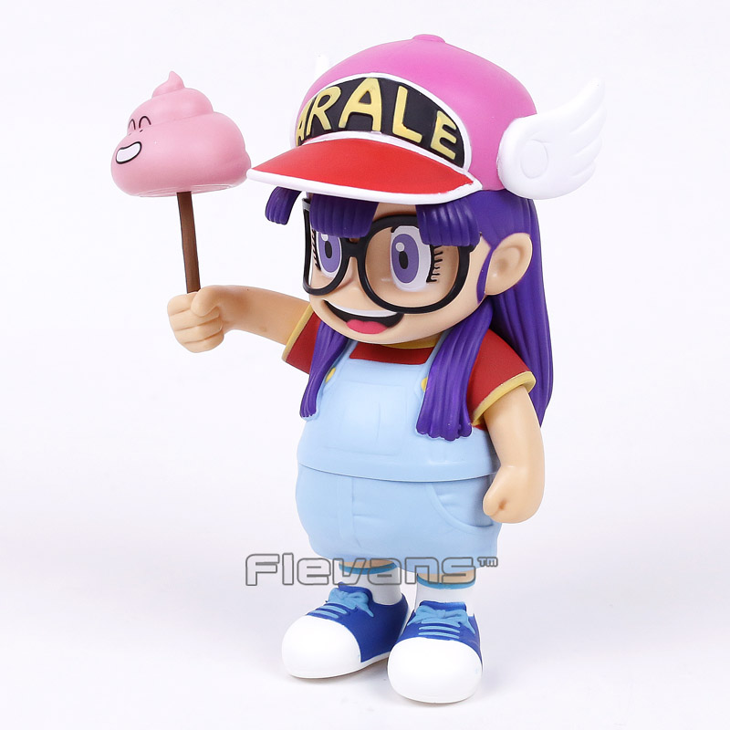 "Anime Cartoon Dr.Slump Arale with Faeces PVC Action Figure Toy Doll 8/"" 20CM"
